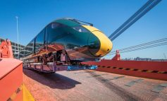 Hitachi's new intercity train for Devon and Cornwall arrives in the UK