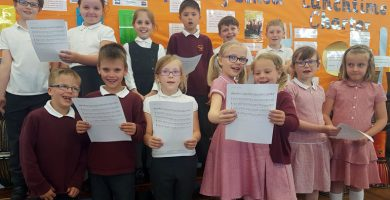 Aycliffe pupils take part in vocal performing outreach programme