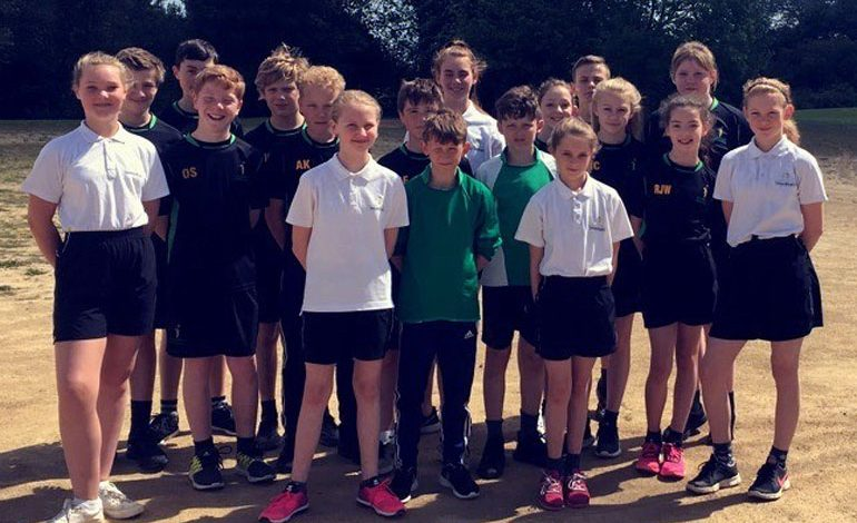 Students compete in South West Durham athletics competition