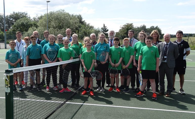 You'll just 'love' Greenfield's revamped tennis courts
