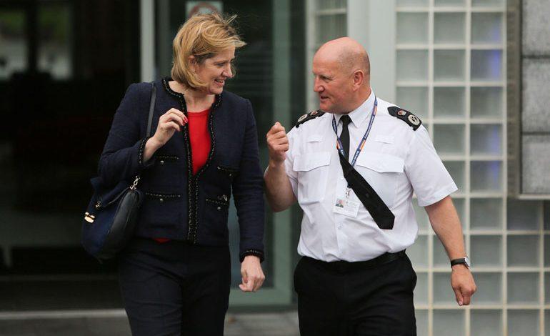Home Secretary Amber Rudd visits Durham Constabulary