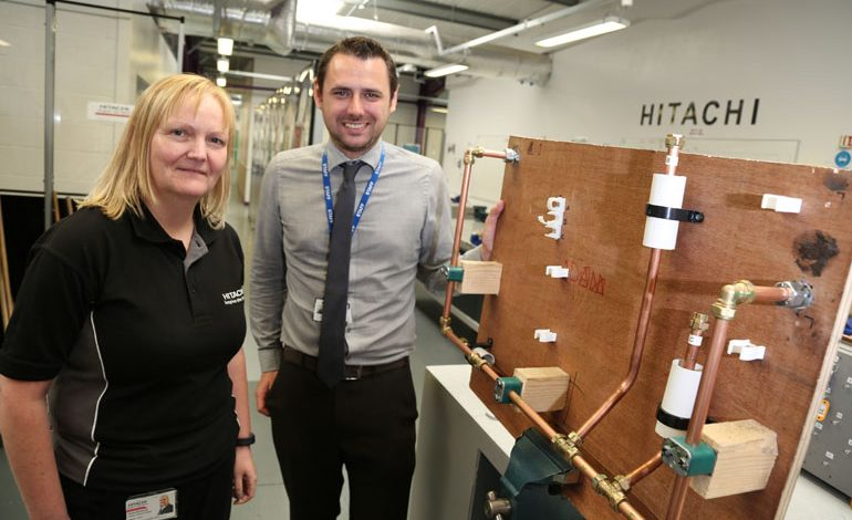 Hitachi Rail skills on track thanks to Aycliffe training provider