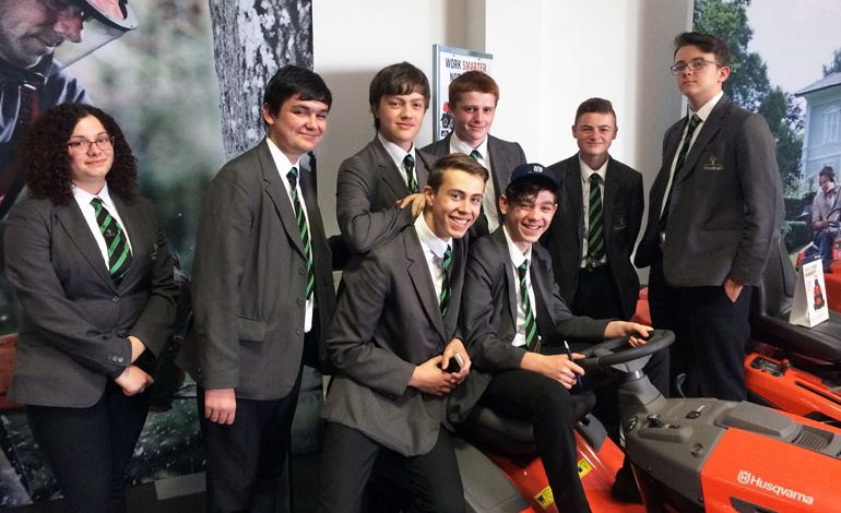 Aycliffe engineering students visit Gestamp and Husqvarna