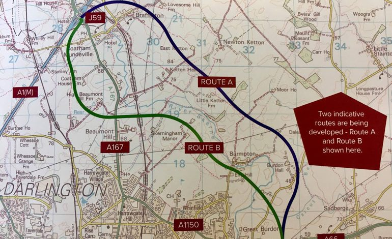 New road proposed to link Aycliffe with A66