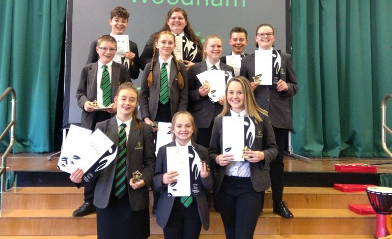 Students' hard work recognised with celebration evening