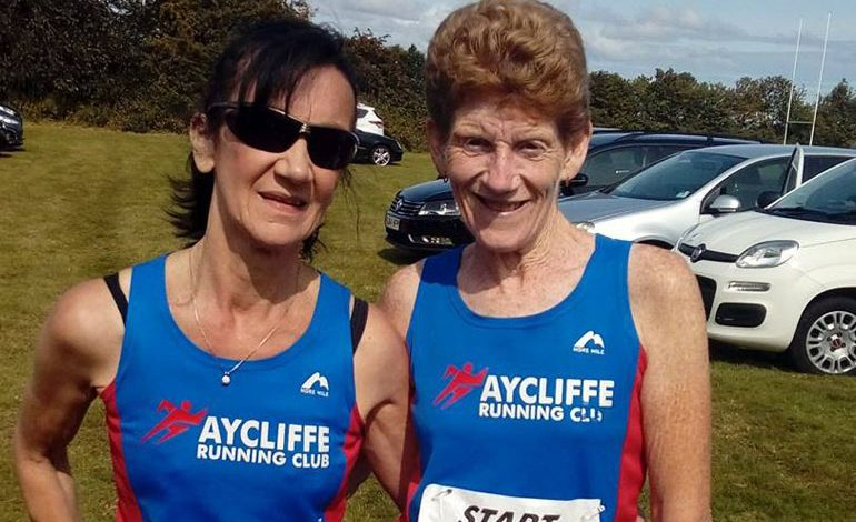 Aycliffe runners in memorial 10k road race
