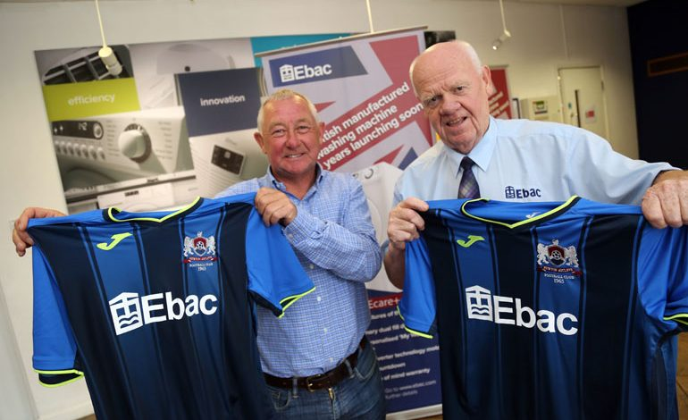 Football club in a spin over record-breaking sponsorship deal with Ebac