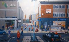 Art depicts Aycliffe life 'In and Around Town'