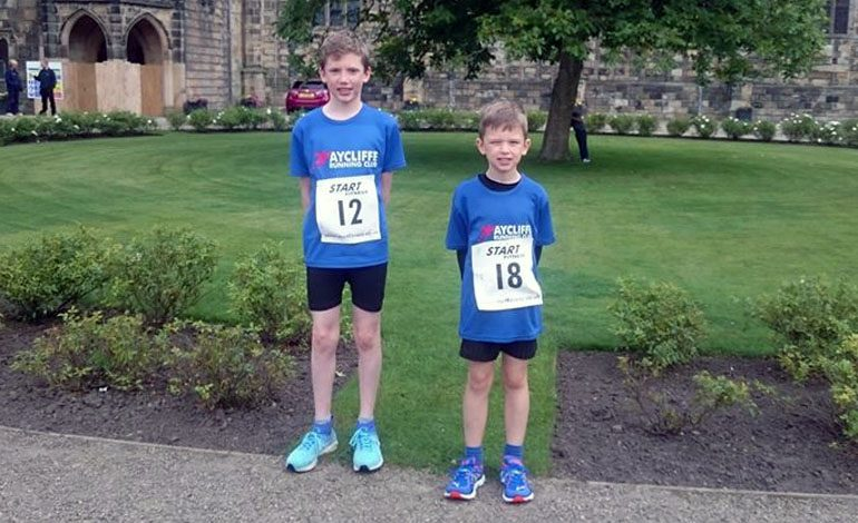 Aycliffe boys do well in Auckland Castle fun run