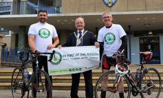 Businesses support coast to coast cycle fundraiser