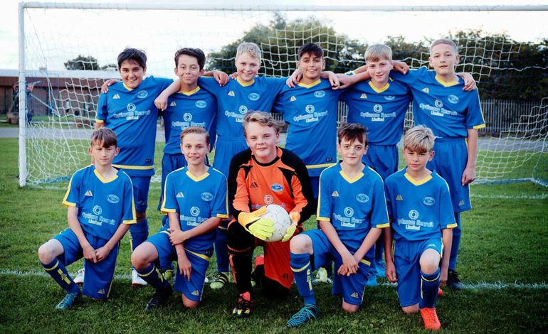 Under-13s ready to go after generous donations