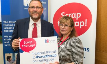 MP backs campaign to scrap public sector pay cap for nurses