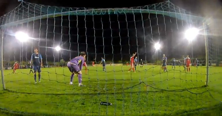 Aycliffe win cup tie after penalty shoot-out drama