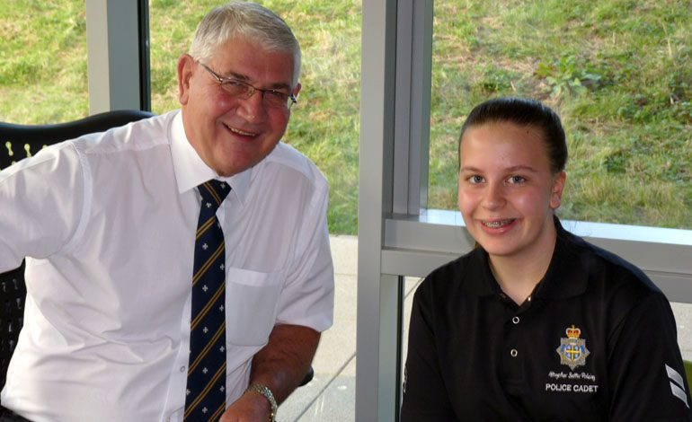 Young police commissioner launches £20,000 community fund