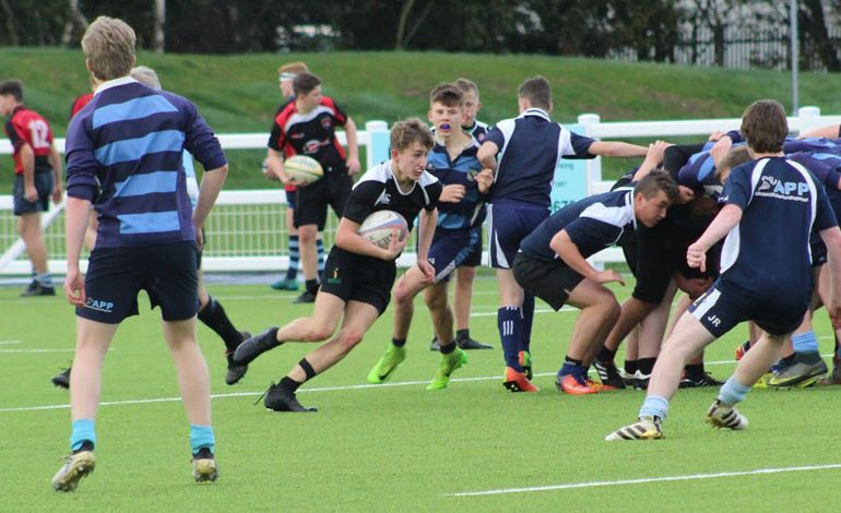 Rugby Academy launched at Aycliffe school