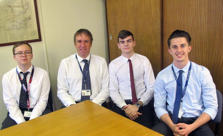 Council welcomes its first Degree Apprentices