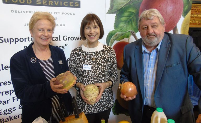 Food producers given support to get their products to market