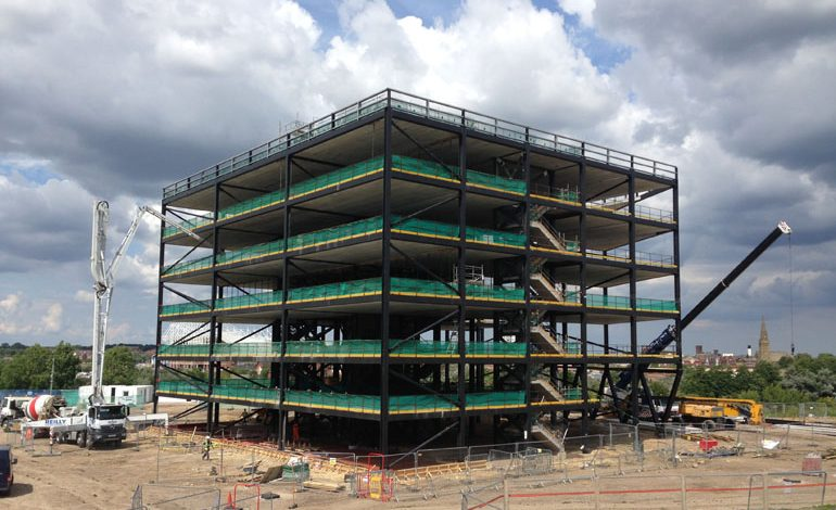 Steel firm helps to regenerate Sunderland's Vaux site