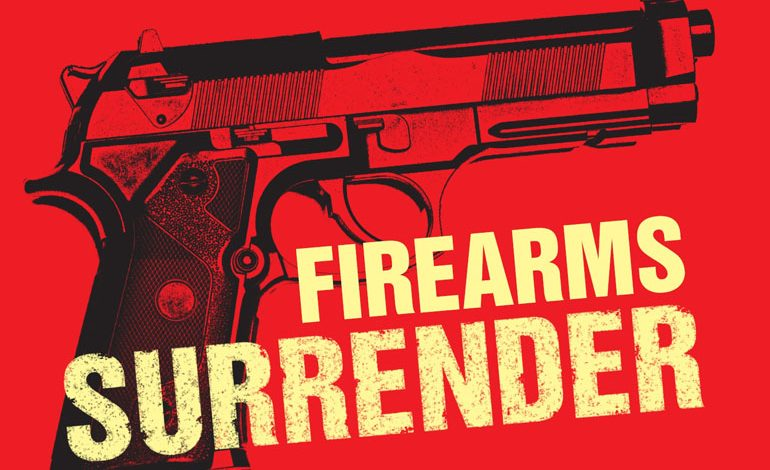 Durham Constabulary takes part in national firearms surrender