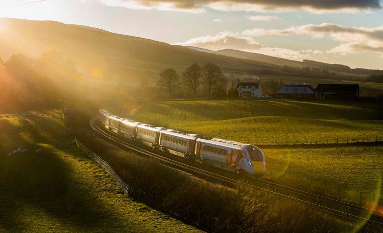 Hitachi's Virgin Azuma train debuts in Highlands