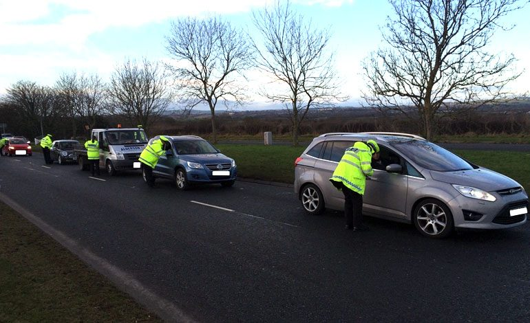 Police clamp down on drink & drug driving