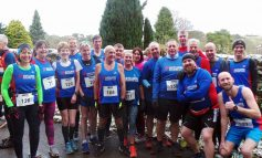 Aycliffe runners compete in Stockton Winter Trail