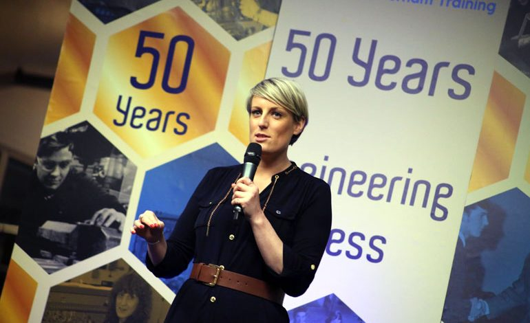 BBC's Steph McGovern leads centre's 50th anniversary celebrations