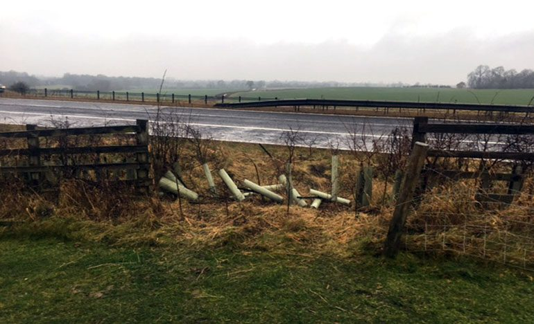 High value 4×4 stolen from farm near Aycliffe