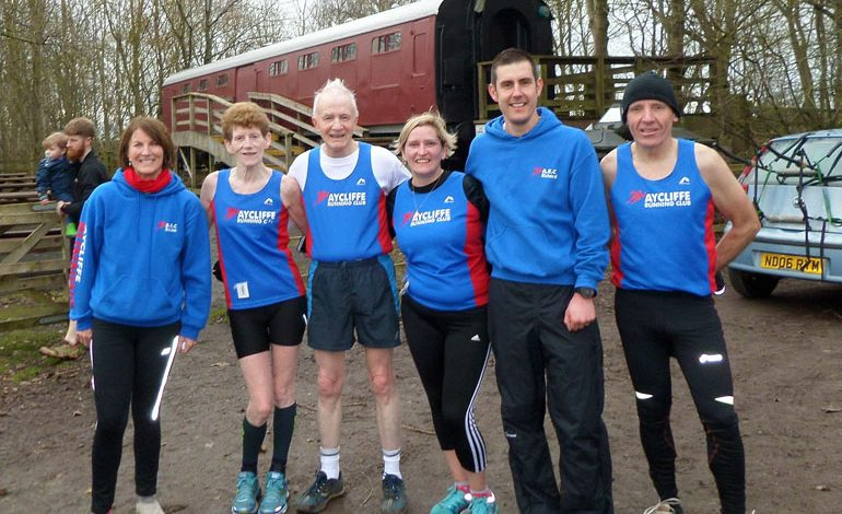 Aycliffe runners compete at Wynyard 5k Trail Race