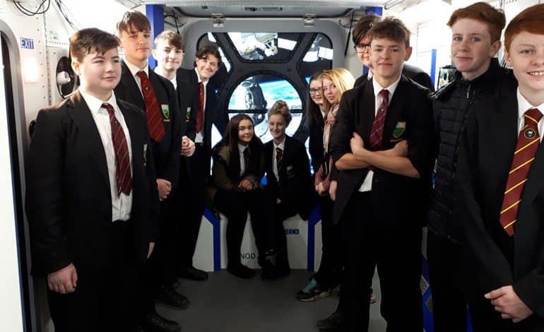 Greenfield students enjoy Tim Peake experience