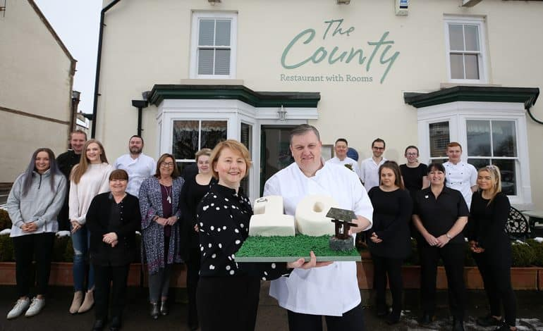 Ten-charity pledge as The County celebrates 10th anniversary