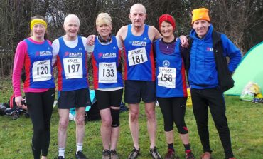 Aycliffe 'Masters' compete in cross country championships