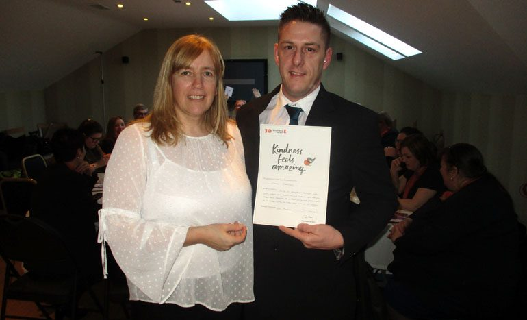 St Clare's Court manager honoured with kindness recognition