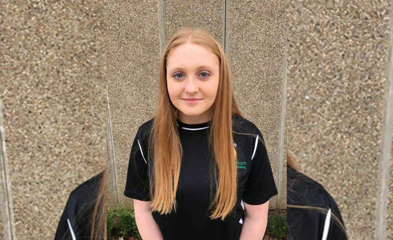 Aycliffe student selected for Water Polo England squad