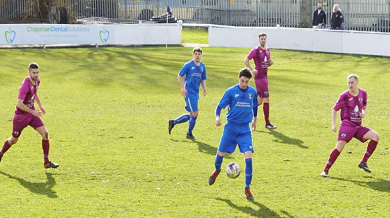 Aycliffe slip to narrow Dunston defeat