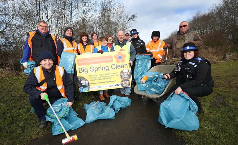 Still time to take part in the Big Spring Clean 2018