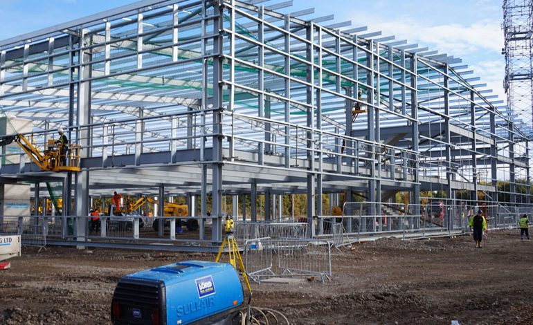 Finley Structures complete 340-tonne oil & gas manufacturing facility