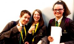 Aycliffe students compete in debating championships