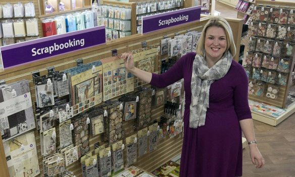 Crafter's Companion flagship store celebrates second successful year