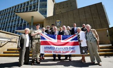 Flying the flag for the armed forces