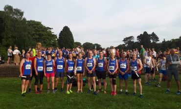 Aycliffe relay runners compete in Middlesbrough
