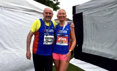 Aycliffe runners compete at Edinburgh Marathon Festival