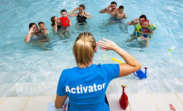 Help build children's water confidence with free activity sessions at Aycliffe