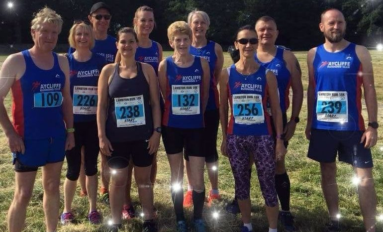 Back to business for Aycliffe runners