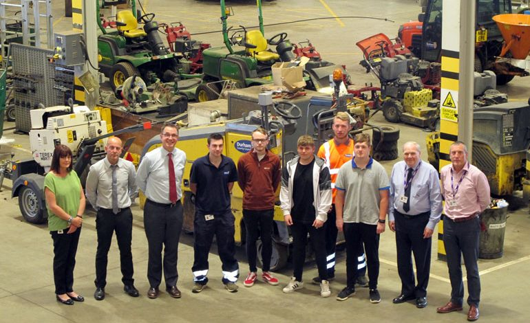 Young people reap benefits of apprenticeship scheme
