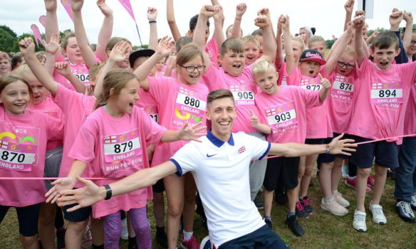 700 children run 2km in Aycliffe mass running event