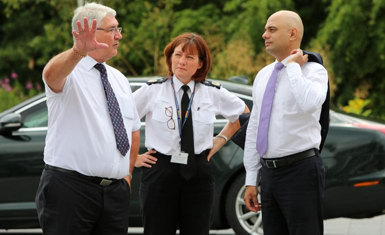 Home Secretary visits Durham Constabulary