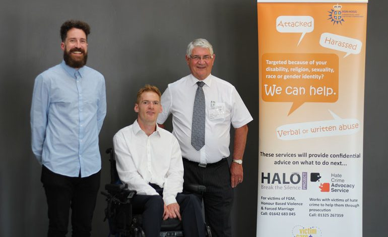 Paralympian Stephen Miller stars at Hate Crime conference in Aycliffe