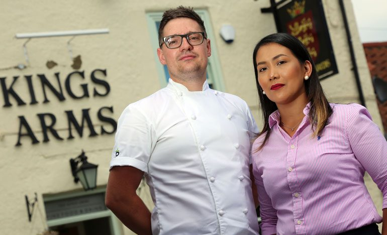 Husband-and-wife team celebrates successful first year at restaurant