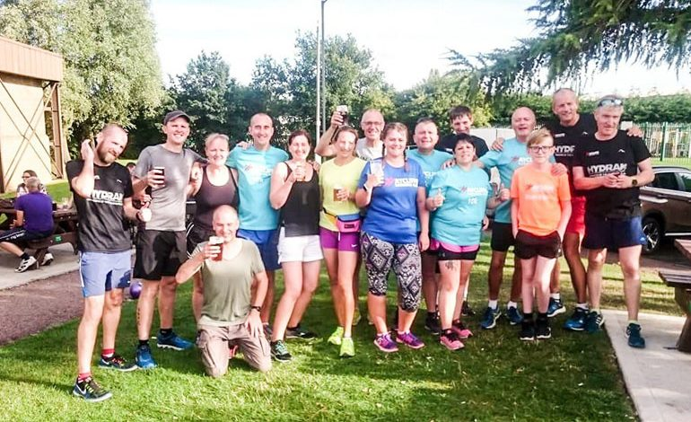 Aycliffe runners visit 13 pubs as part of 'Half Pint Marathon'